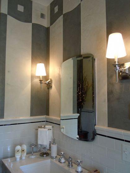 Plaster Bathroom Plaster walls and