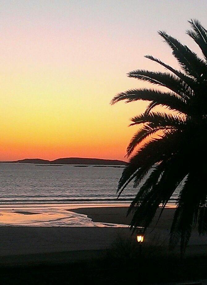 Playa America , Nigrán , Galicia Spain Playas , puestas de sol, paisajes. Beach, sunsets, landscapes