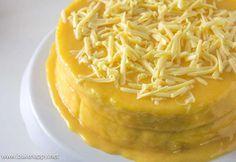 Easy Yema Cake Recipe Panlasang Pinoy Recipes Recipe Yema Cake Yema Cake Recipe Cake Recipes
