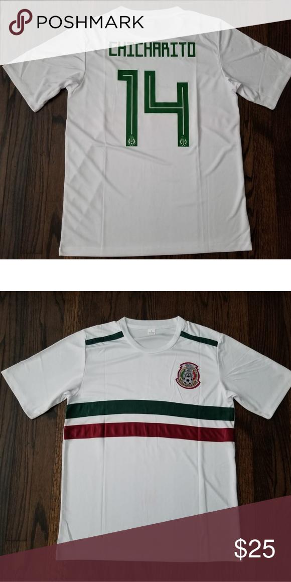 4fa68ab10 MEXICO #14 CHICHARITO Soccer Jersey Mexico national soccer team white  jersey J. Hernández sport Shirts Tees - Short Sleeve