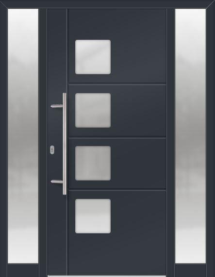 Modern Contemporary Traditional Entry Doors Made Of Fiberglass