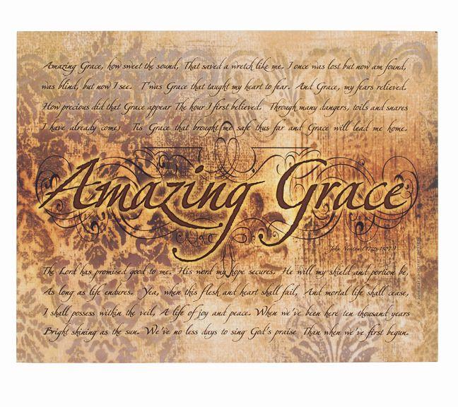 Amazing Grace Inspirational Canvas Art Canvas Art Quotes Inspirational Canvas Art Canvas Art