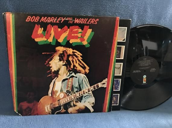 Rare Vintage Bob Marley The Wailers Live Vinyl Lp Record Album Original First Press Regga The Wailers Bob Marley Marley