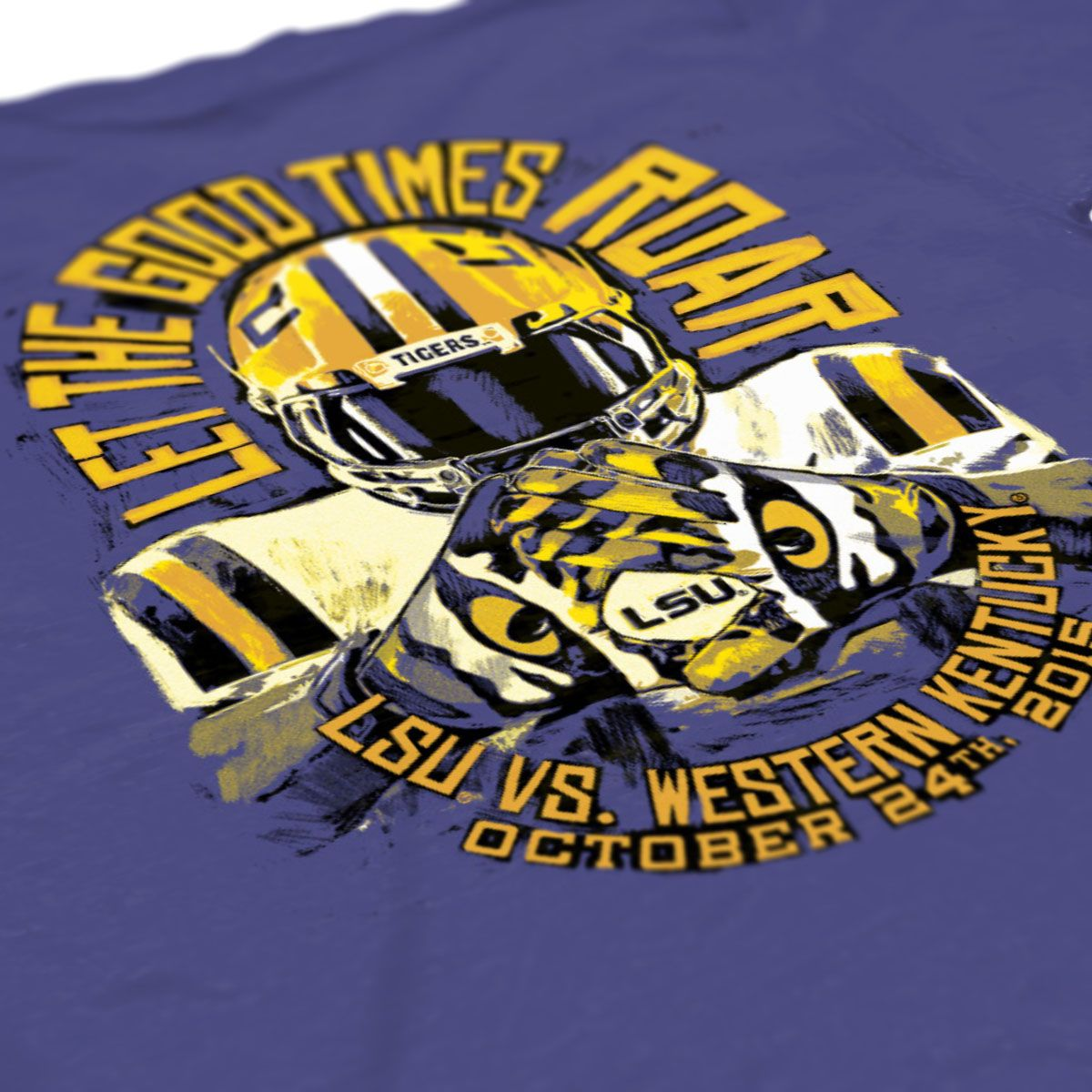Shirt design for alumni homecoming - Football Shirts