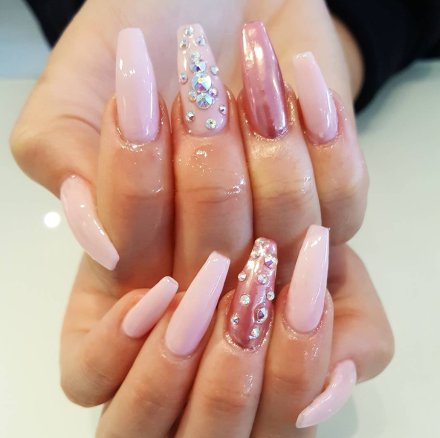 Like What You See Follow Me Xcharlottc For More Pins Like This Pink Acrylic Nails Pretty Acrylic Nails Jelly Nails