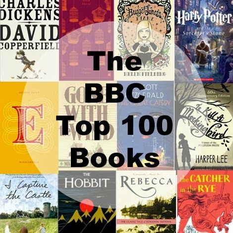 The Bbc Top 100 Books With Images Top 100 Books 100 Book