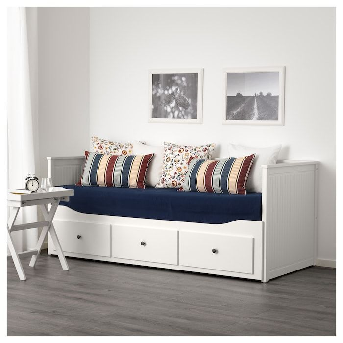 Hemnes Daybed Frame With 3 Drawers White Twin Ikea Ikea Hemnes Lit Hemnes Canape Lit Gigogne