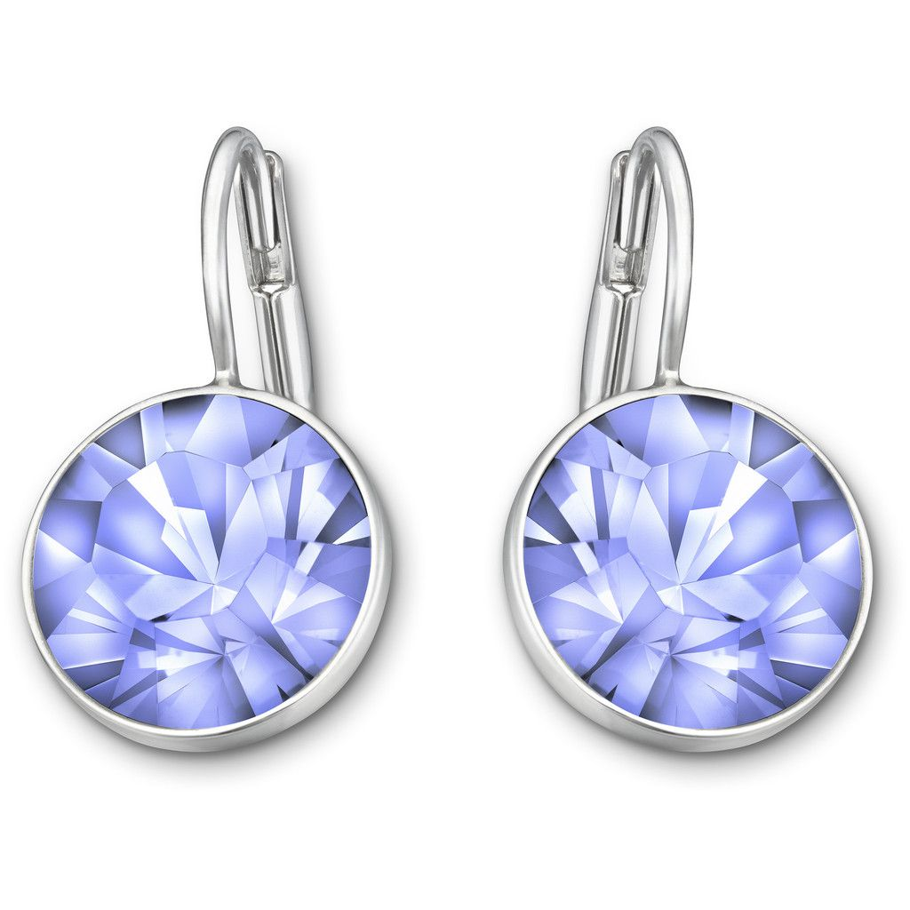 1880fb885c080 SWAROVSKI BELLA MINI PIERCED EARRINGS, LIGHT SAPPHIRE 5007738 | Duty ...