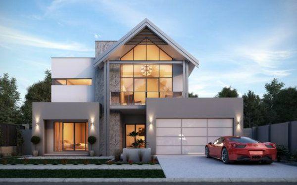 best ieads about storey mordern house villa home also rh pinterest