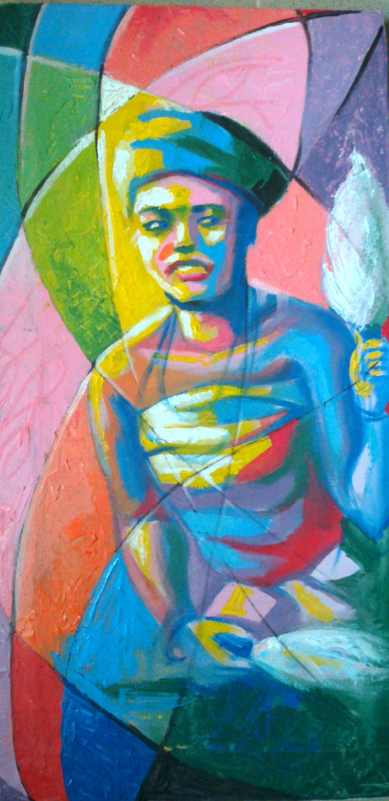 Artworks · art pieces · awizzys uploaded imagespainting by nigerian contemporary artists http www awizzy net