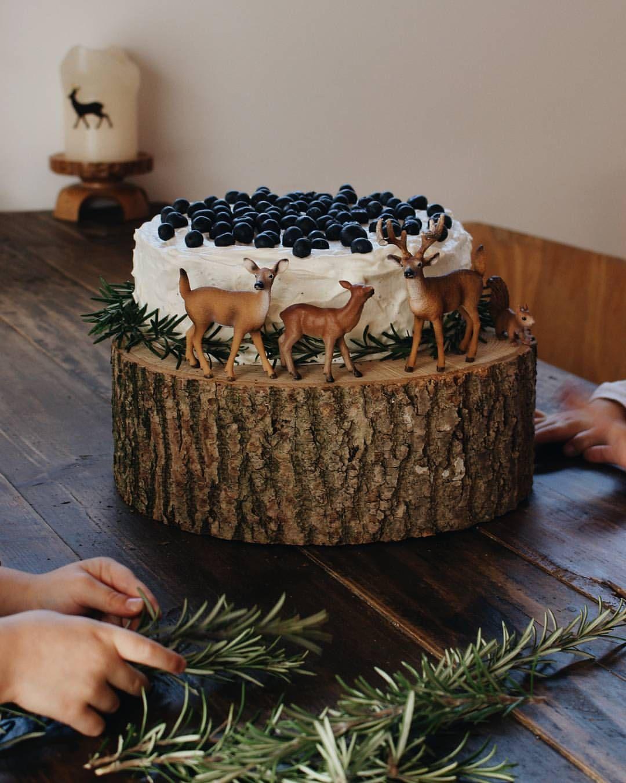 Geburtstagskuchen wald