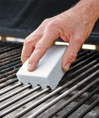 Set of 2 Magic-Stone Grill Cleaners (With images) | Clean grill ...