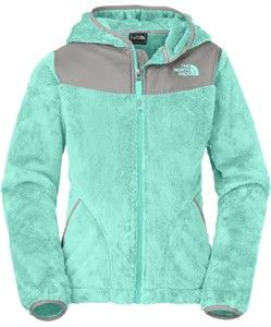 5a7238a23 The North Face Girl's Oso Fleece Hoodie is a fleece jacket that ...