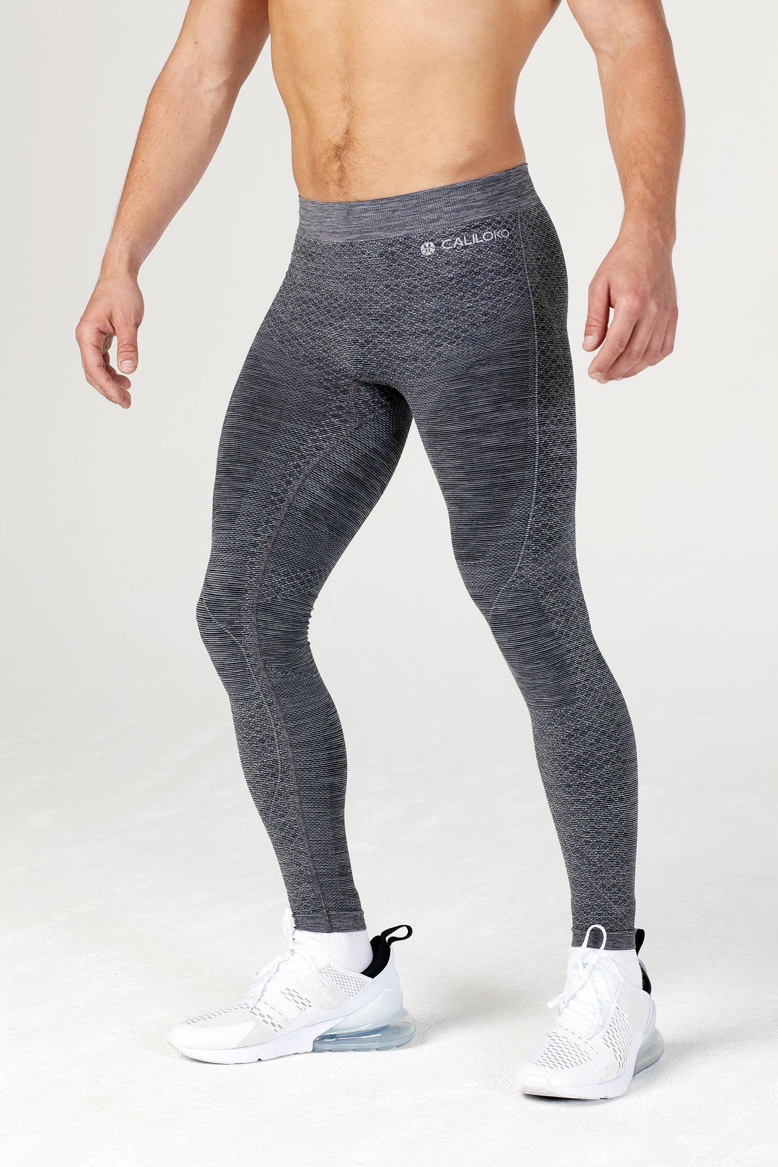 Fashion Men Sport Fitness Running Compression Stretch Leggings Pants