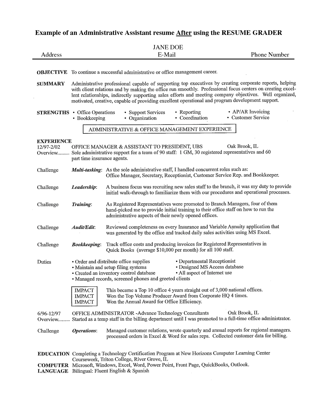 Resume Objective For Administrative Assistant Killer Resume Objectives Best Ideas About Career Sales Advertising