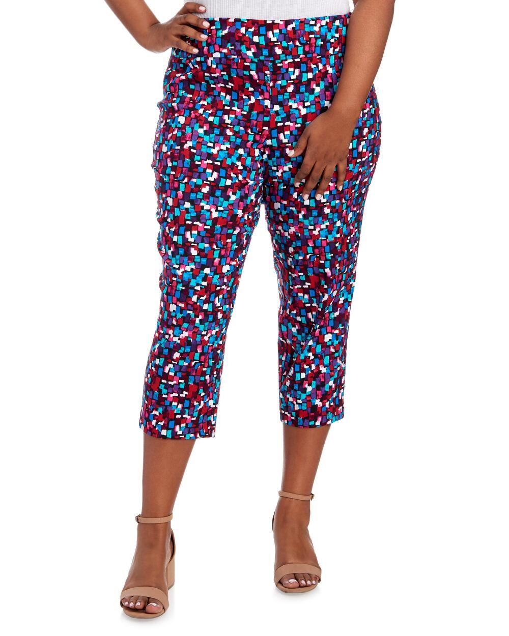 Women\'s Plus Size Caroline Explosion Crop Pants | Design: Office ...