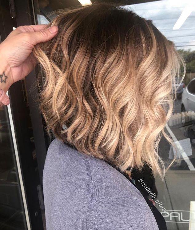 Angled Lob Haircuts That Prove Blunt Isn't Always