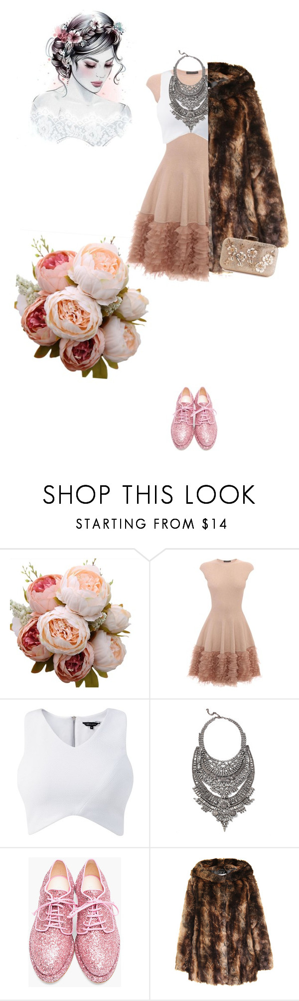 """""""Untitled #204"""" by stephaniefransway ❤ liked on Polyvore featuring Alexander McQueen, DYLANLEX and Simone Rocha"""