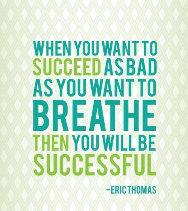 Then you will be successful #365motsbocalidees