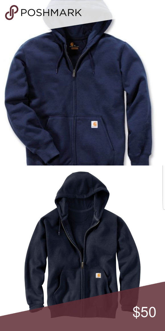 b761fbce0 Carhartt Men's Paxton Heavyweight Full Zip Hoodie Product Information: Take  advantage of work gear that