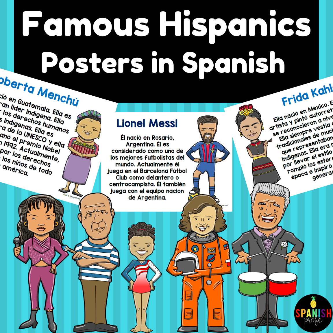Hispanic Heritage Month Posters In Spanish Carteles Mes