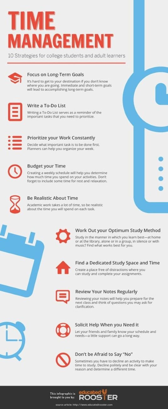 10 strategies to help prioritize your time better. Visit our #CareerServices at www.ortchicagotech.edu for more tips