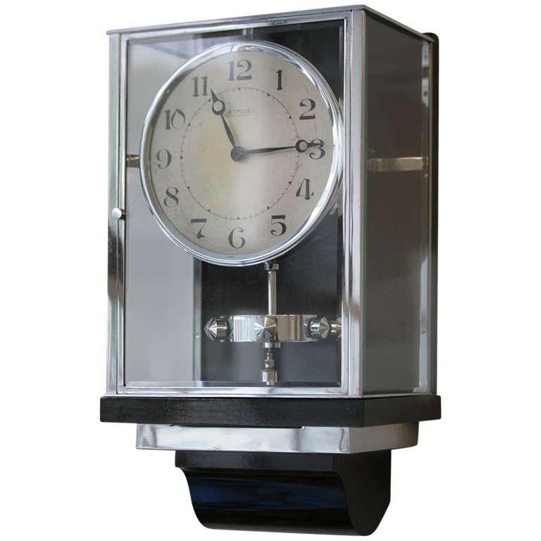 b320c067ec6 Jaeger-LeCoultre Atmos Pendule Perpetuelle Wall Clock circa 1930s ...