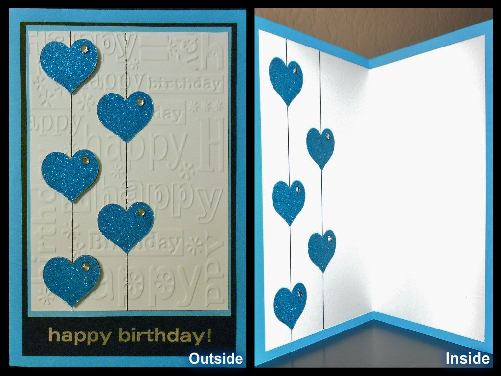 Handmade birthday card cuttlebug card designs pinterest