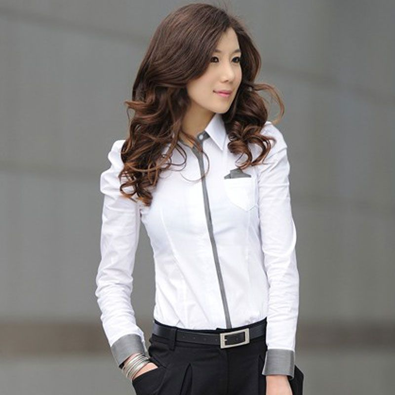 Formal Dress Shirts for Women | FASHION | Pinterest | Formal ...