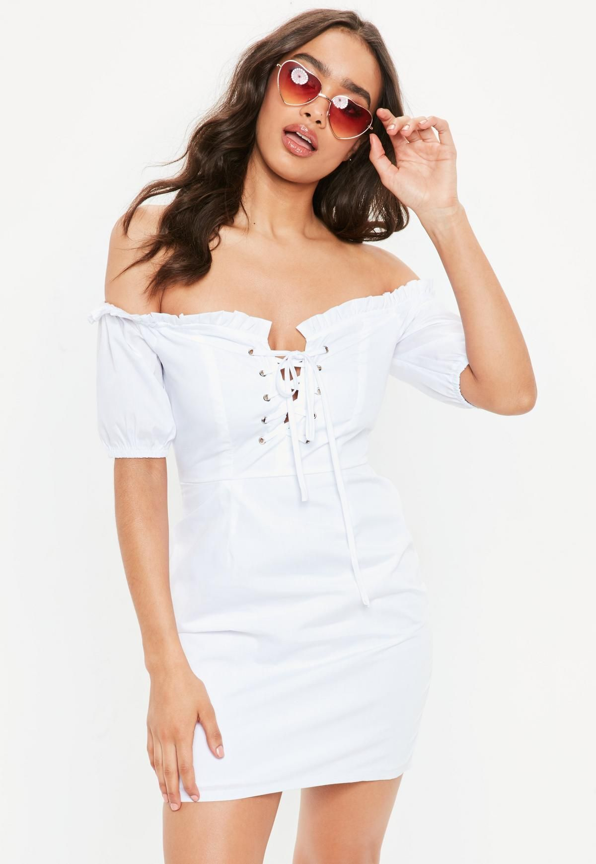 8e86963d4bc2c9 White Milk Maid Dress White Outfits, Dress Outfits, Women's Dresses, Red  Gingham,