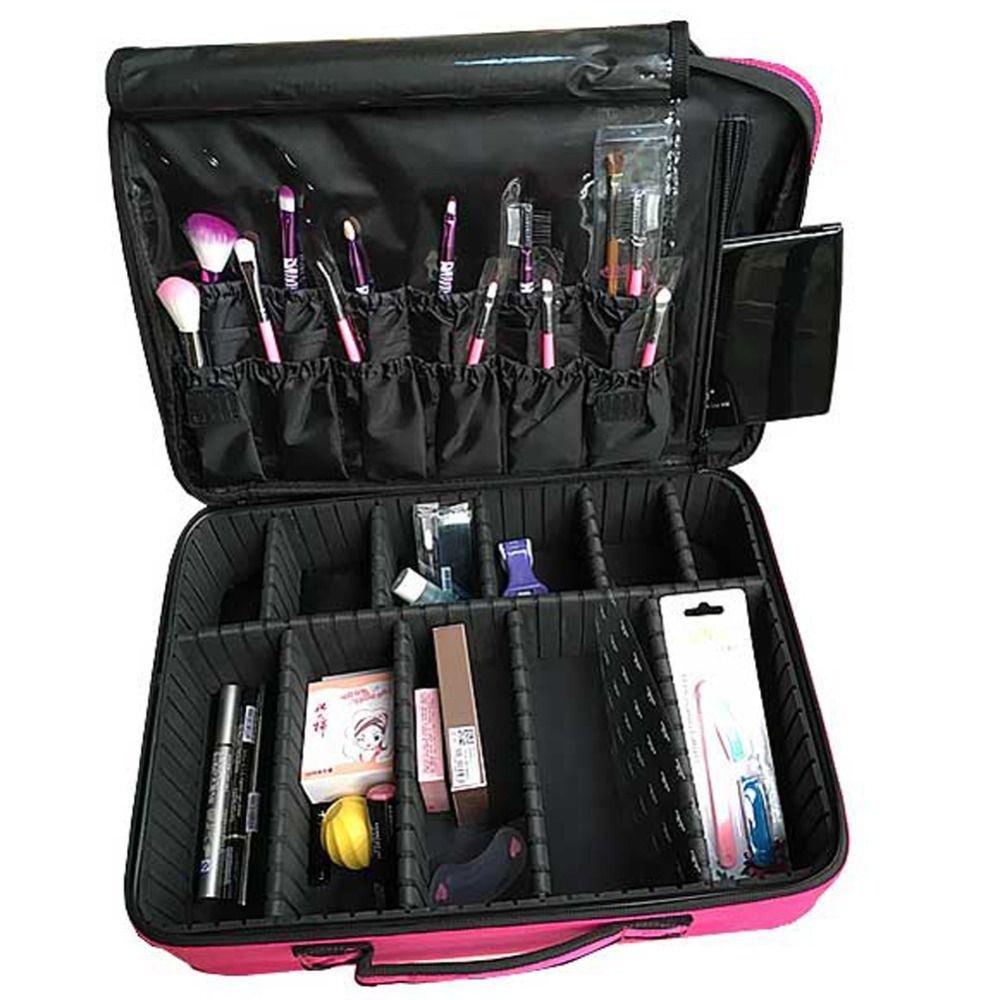 Cosmetic case professional makeup artist cosmetics cases