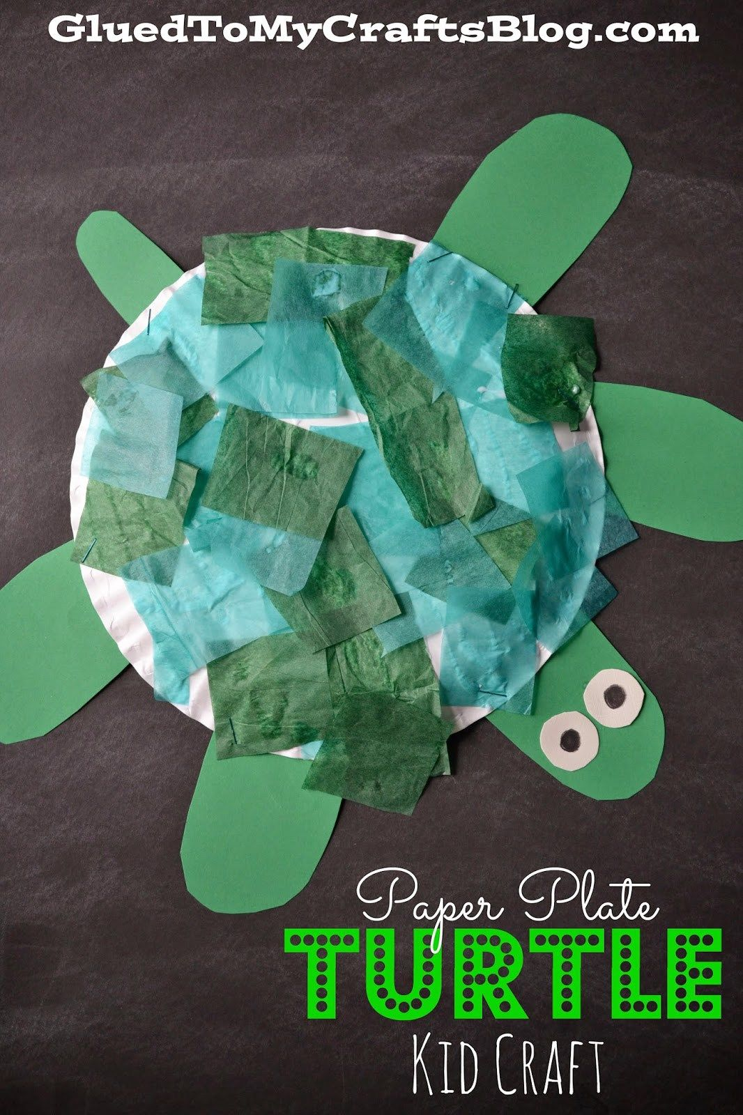 Paper Plate Turtle {Kid Craft} | Turtle, Crafts and Paper plate crafts