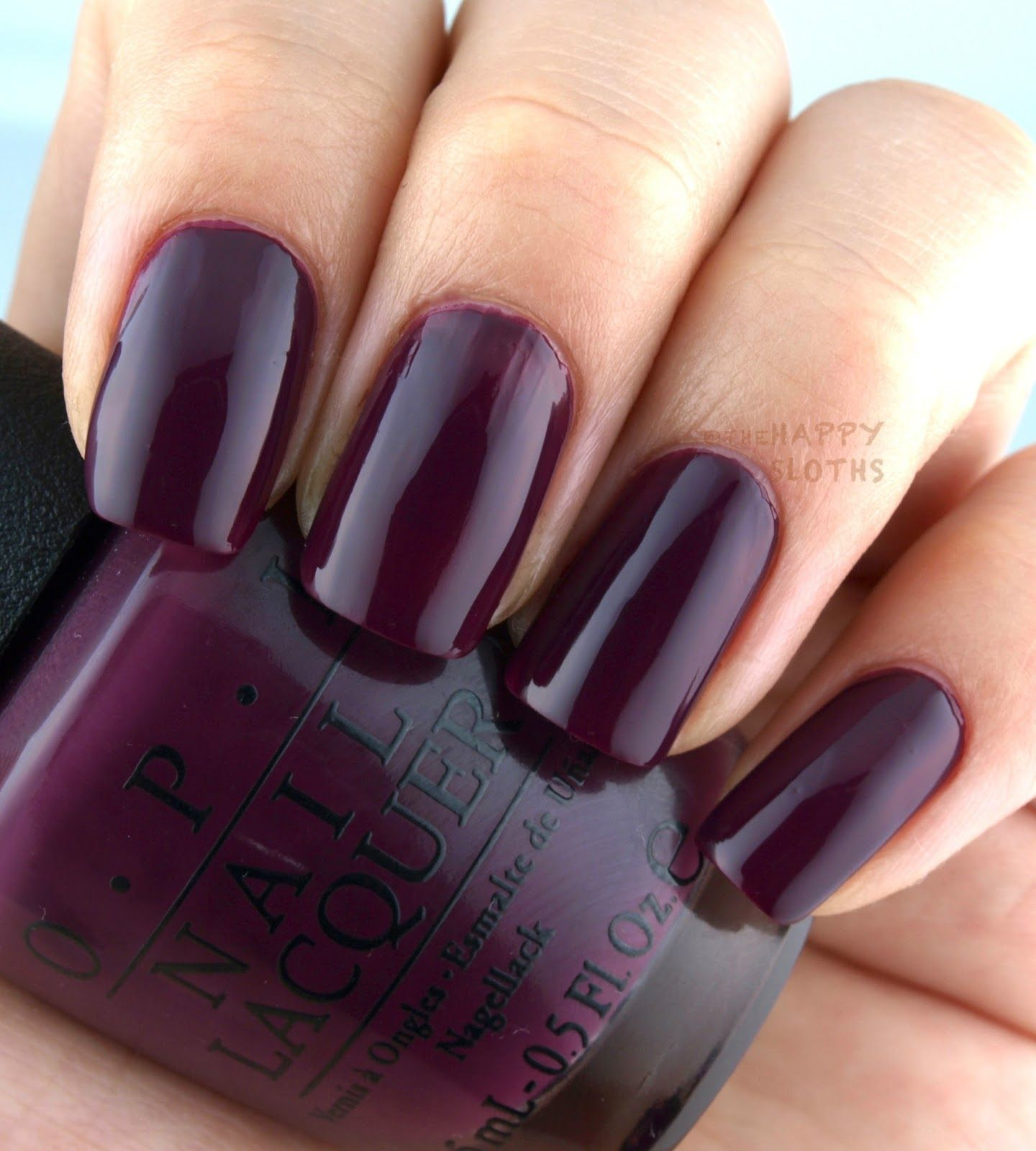 The Happy Sloths: OPI Fall 2016 Washington DC Collection: Review and ...