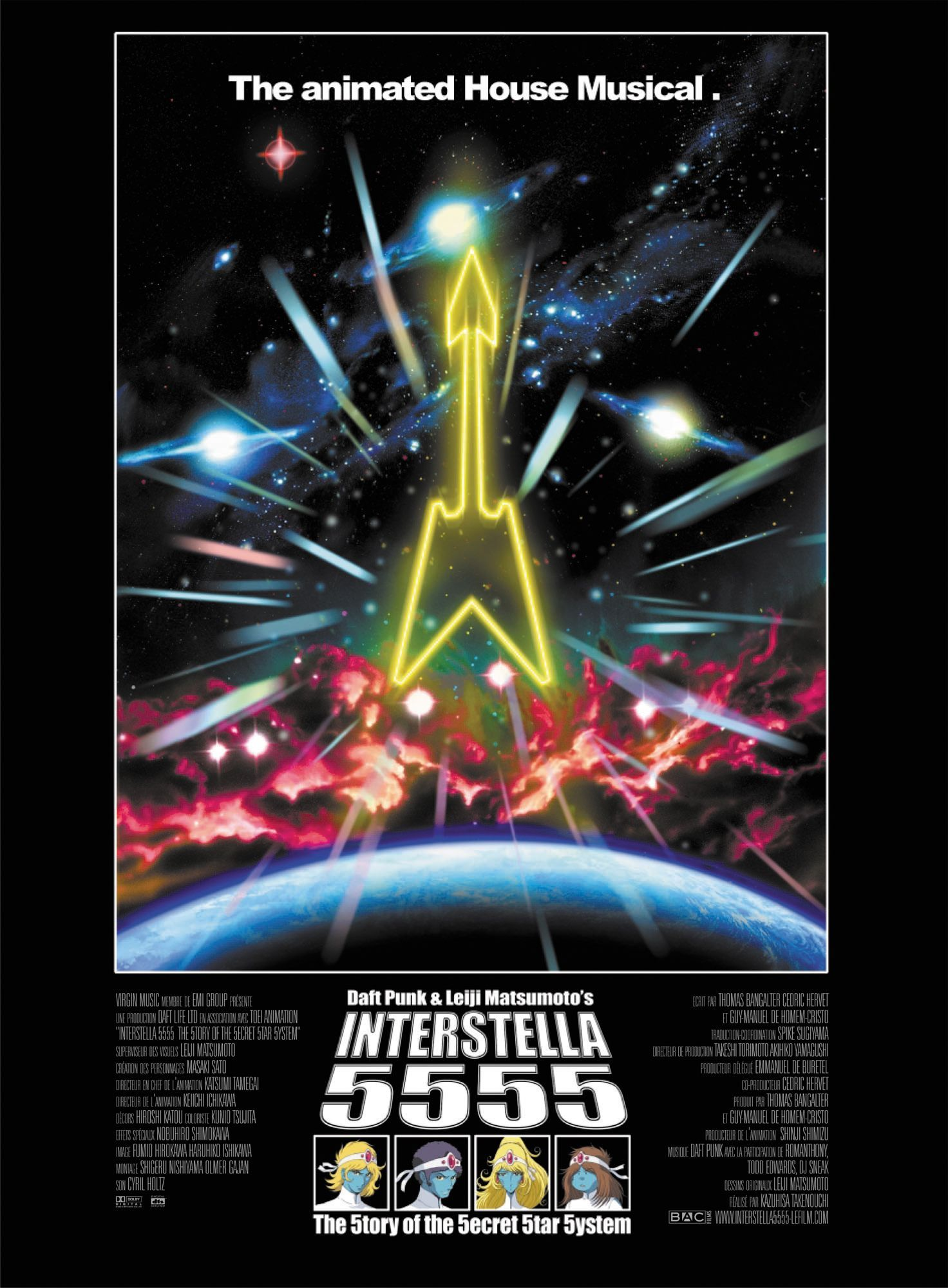 Interstella 5555 (With images) Daft punk, Anime films