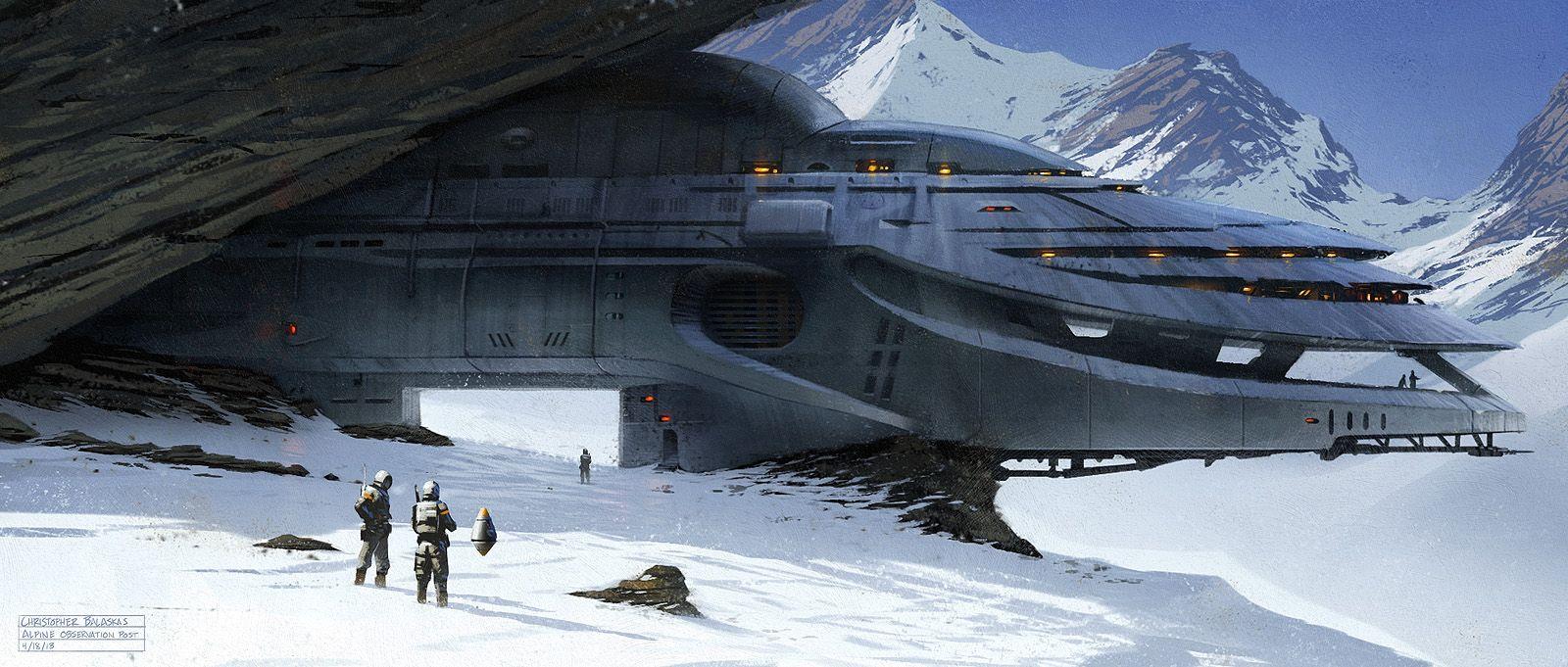 Alpine Observation Post by ~Balaskas on deviantART
