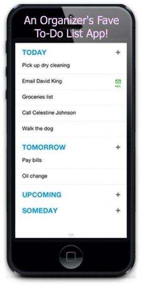 My Favorite Organizing App!