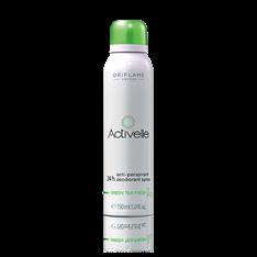 Activelle 24h Deodorant Green Tea -antiperspiranttisuihke