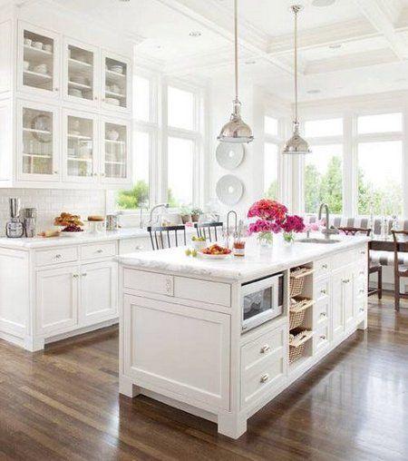 Vintage Look Of Your White Kitchen - www.freshinterior.me