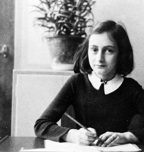 Happy Birthday Anne Frank   12 June 1929 - March 1945
