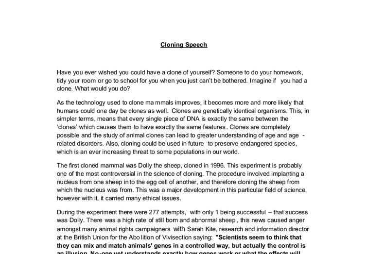 Informational Essay