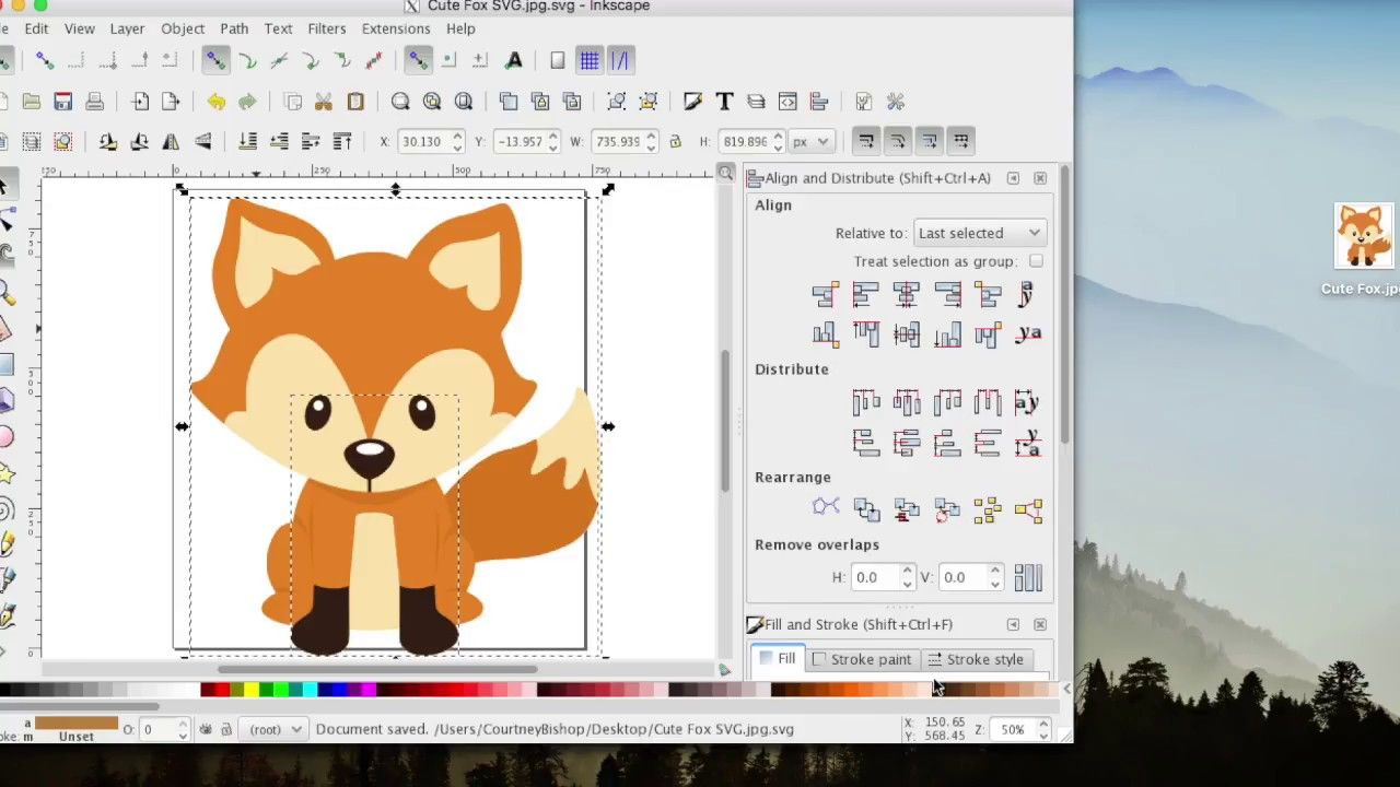 How To Create SVG Files Inkscape For Design Space. This is