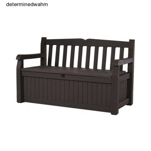 Admirable Outdoor Storage Bench Deck Garden Patio Waterproof Pool Toy Dailytribune Chair Design For Home Dailytribuneorg