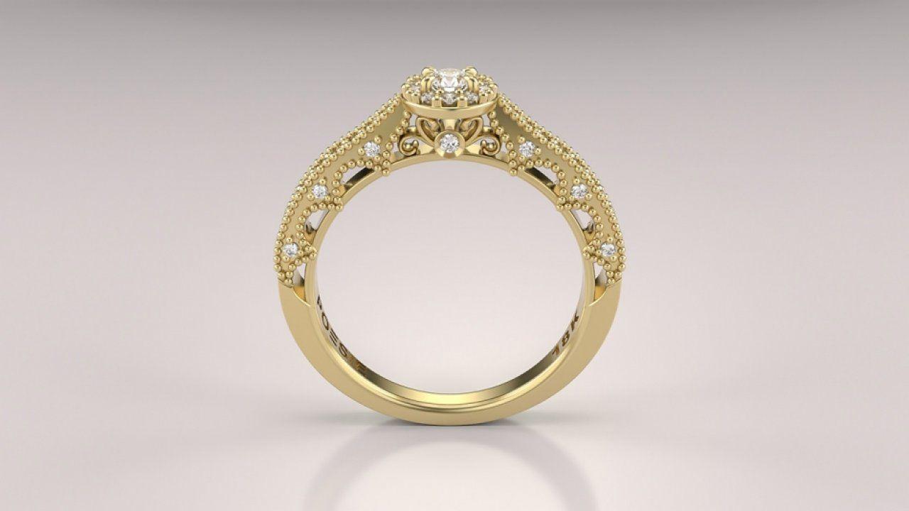 57f6cbaf2d61f O Anel de Noivado Arkhos exibe detalhes marcantes e refinados. Arabescos,  grãos, arcos e diamantes se reúnem em um design fascinante. Uma joia  concebida