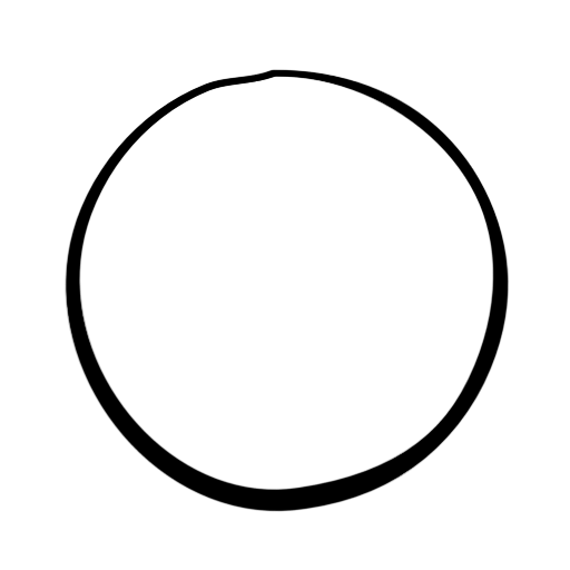 Black Circles Black Marker Google Search Circle Mirror Table Image