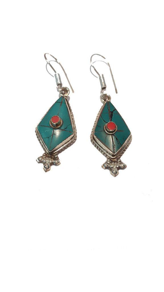 Turquoise earing