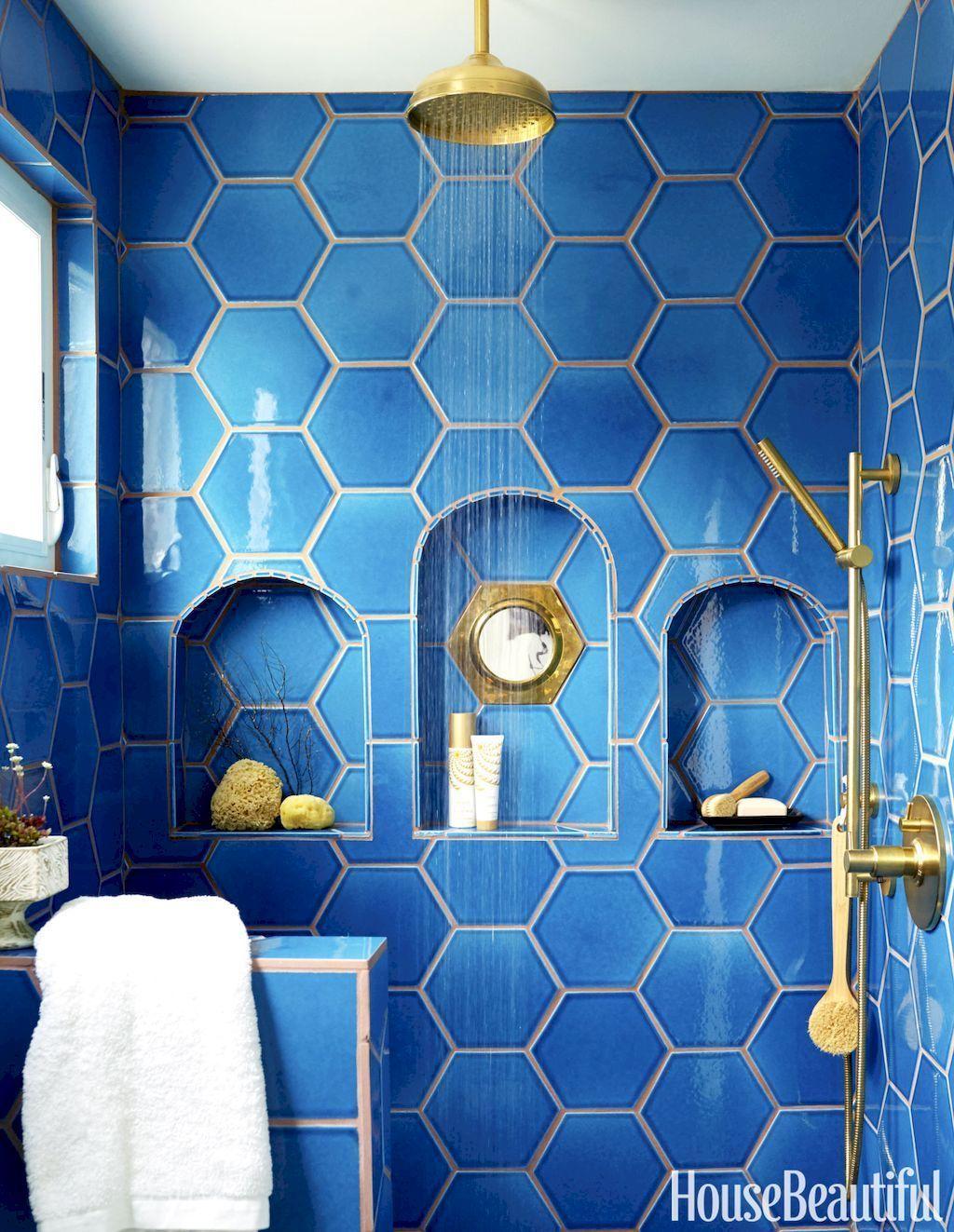 80 Stunning Tile Shower Designs Ideas For Bathroom Remodel ...