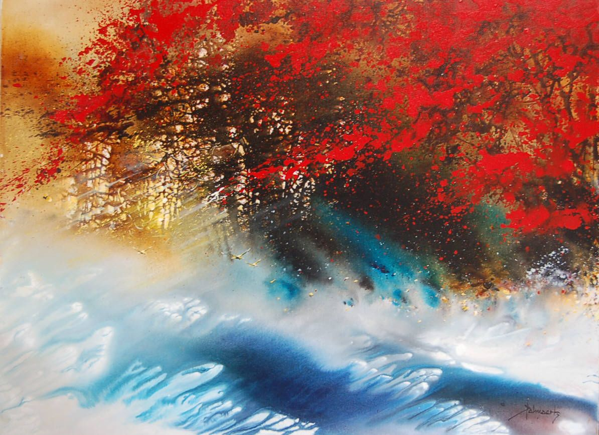 Кухня художника и все его радости - Осенние пейзажи от Roland Palmaerts