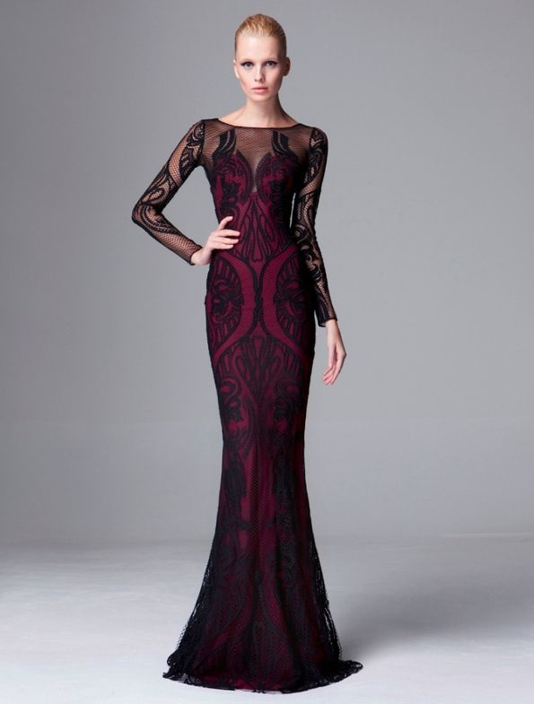 Zuhair Murad #Pre-Fall 2014 Hella vampy and sexy. Wow! Just wow ...