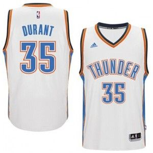 Mens Oklahoma City Thunder Kevin Durant Number 35 Jersey White http://www.supernbajerseys.com/mens-oklahoma-city-thunder-kevin-durant-number-35-jersey-white.html