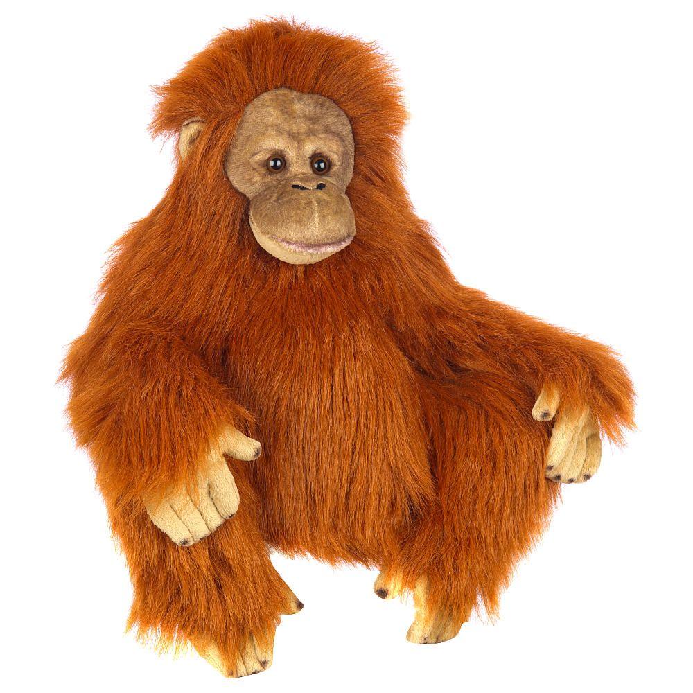 FAO Schwarz 14 inch Plush Orangutan - Copper - FAO Schwarz - Toys \